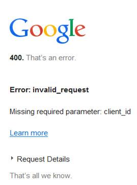 اکانت گوگل در ASP.Net