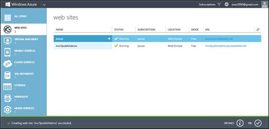 ASP.NET MVC به Azure