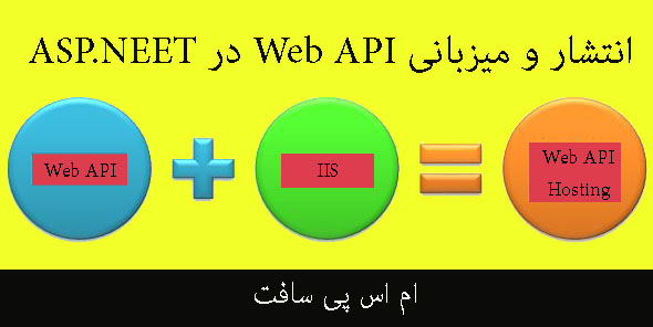میزبانی Web API