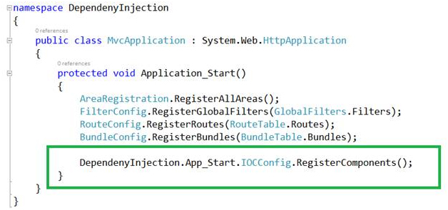 Dependency Injection در MVC