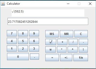 سورس پروژه ماشین حساب به زبان جاوا |با سلام پروژه ماشین حساب حرفه ای با ۱۵ عملگر و قابلیت نمایش دستور قبلی و کار با اعداد اعشار به زبان جاوا را برای شما دوستان عزیز روی سایت قرار میدم ...