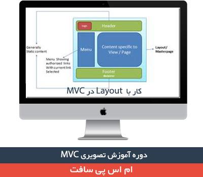 Layout در MVC