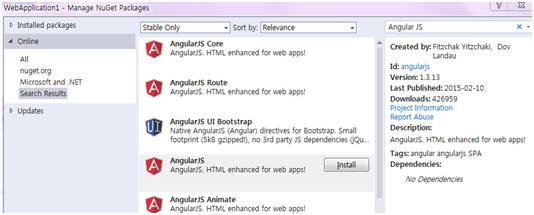 ویژگی های Angular JS