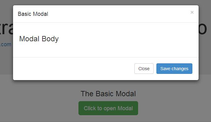 modal Bootstrap