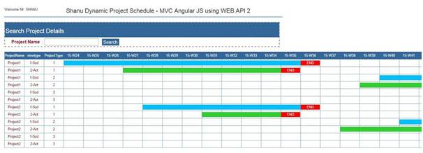 زمانبندی اجرا پروژه