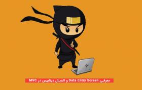 معرفی Data Entry Screen