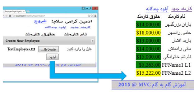 برنامه نویسی سه لایه در MVC