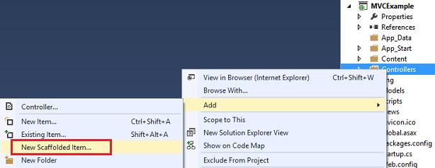 ASP.Net Scaffolding