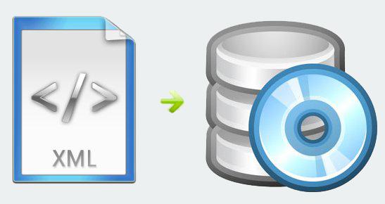اتصال داده های XML