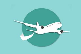 دکارتی موقعیت هواپیما
