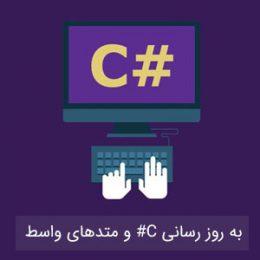 به روز رسانی C# و متدهای واسط پیش فرض زبان F#