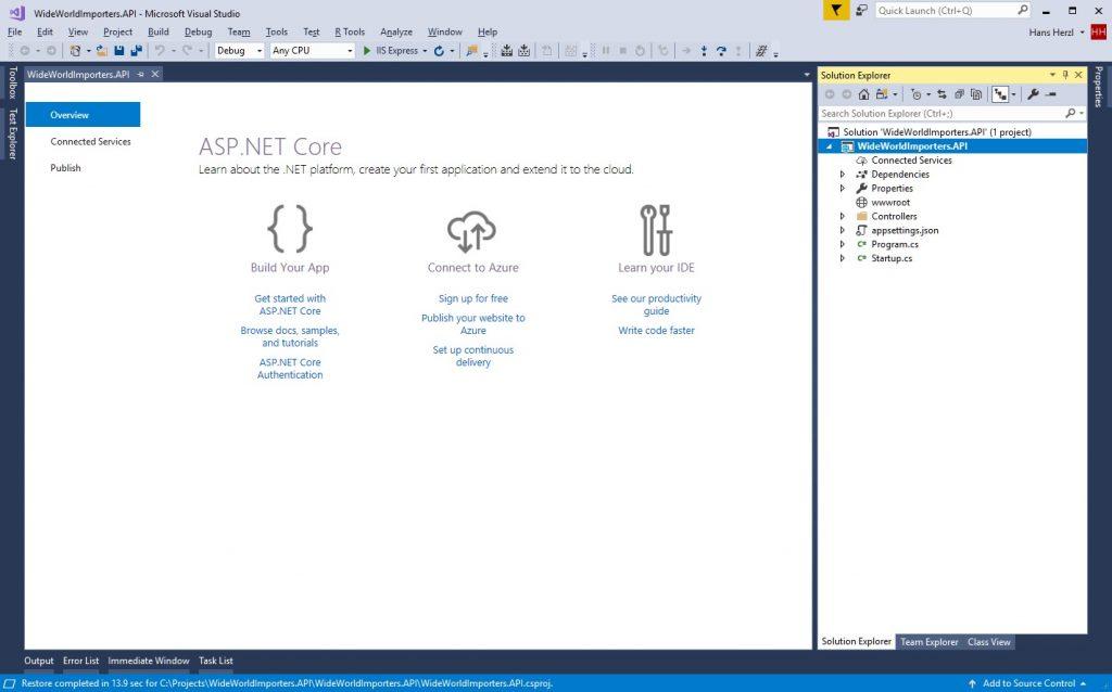 Web API در ASP.NET Core 2.0