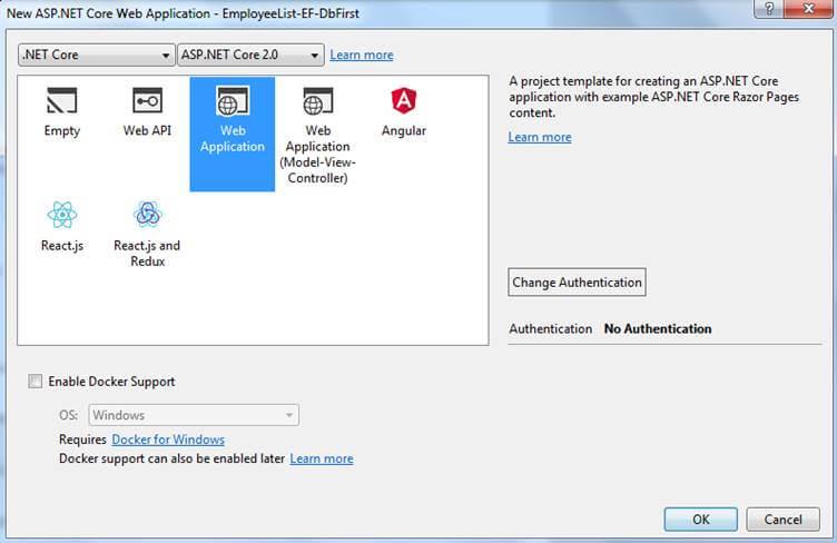 ASP.NET Core 2.0 و Web Application