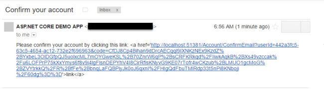 ارسال ایمیل در ASP.NET Core